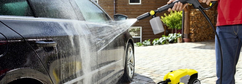 Как правильно мыть машину бесконтактной мойкой